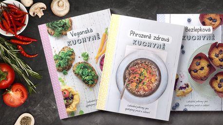 Kuchařky plné receptů ze zdravých surovin