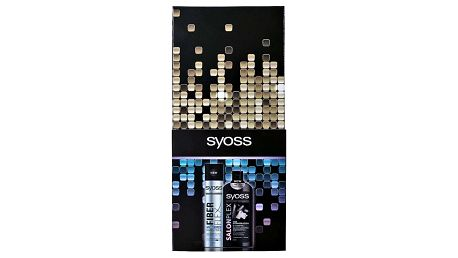 SYOSS Salon Plex & Fiber Flex Syoss Salon Plex šampon 500 ml + Syoss Fiber Flex lak na vlasy 300 ml