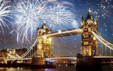 4denní silvestrovský zájezd do Londýna s ohňostrojem, ubytováním a snídaní pro 1 osobu