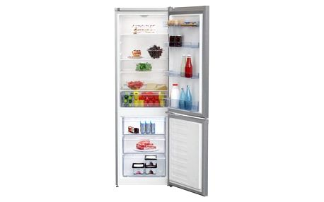 Chladnička s mrazničkou Beko CSA 270M30X nerez