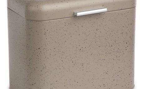 Chlebník šedý mramor 30 x 26,5 x 18 cm