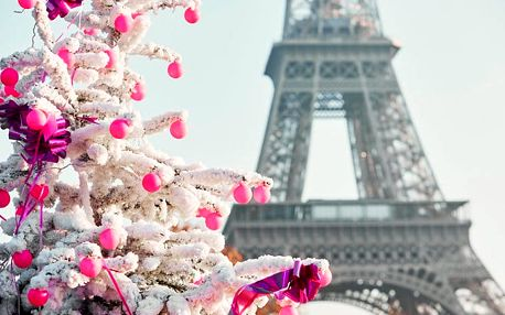 4denní zájezd pro 1 osobu do Paříže na Silvestra s ubytováním a návštěvou Disneylandu