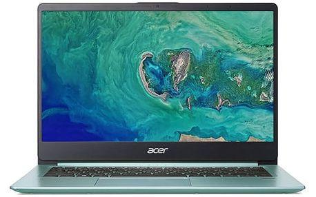Notebook Acer Swift 1 (SF114-32-P94N) zelený + dárek (NX.GZGEC.001)