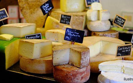 Libovolné lahůdky ze sýrárny Skleněná Louka