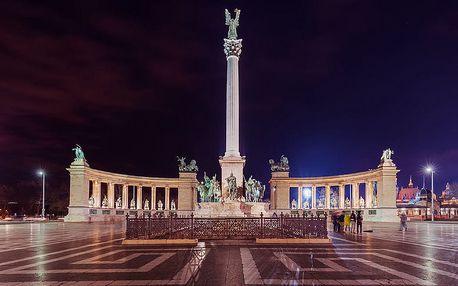 Výlet do adventní Budapešti a její vánoční trhy pro 1 osobu