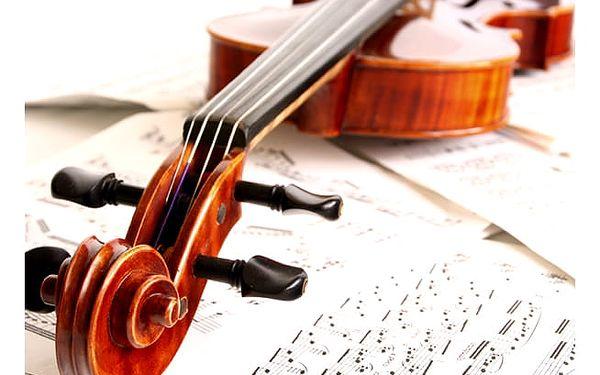 Vstupenka na koncert Antonio Vivaldi v Obecním domě, v Praze.