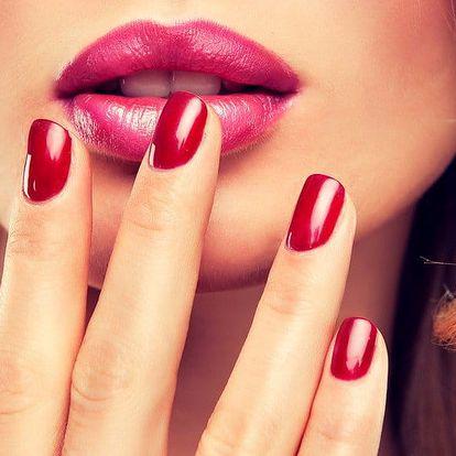 Manikúra, lakování gel lakem i gelové nehty