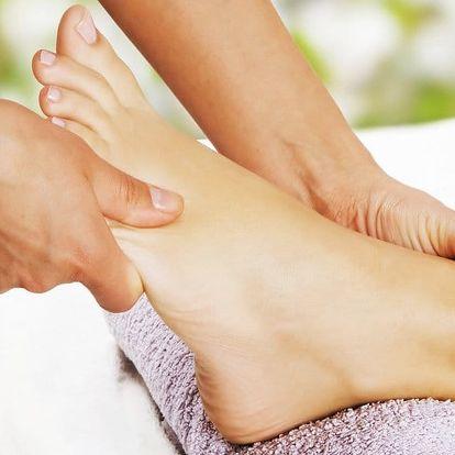 Reflexní masáž chodidel a klasická masáž zad