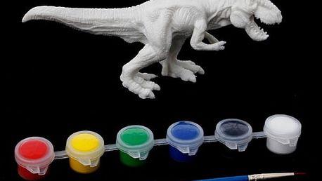 DIY model dinosaura k nabarvení - 6 variant