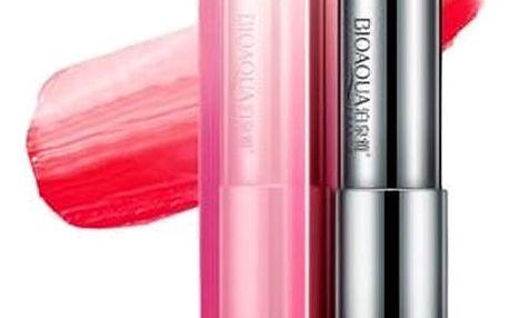 Tříbarevná konturovací rtěnka Bioaqua - Hit v dekorativní kosmetice s efektem plných rtů.