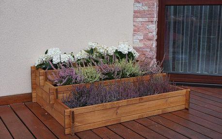 Tradgard ZAHRÁDKA 41324 Dřevěný exkluzivní květináč kaskádovitý