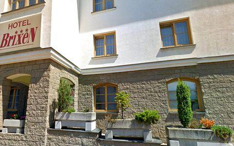 Hotel Brixen*** v Havlíčkově Brodě se snídaní a vstupem do sportcentra