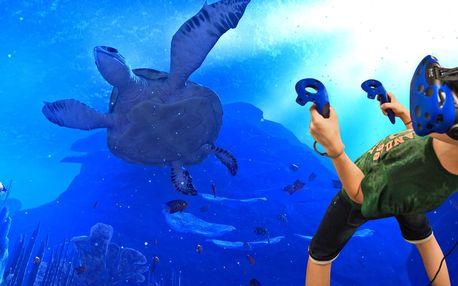 60 minut rodinné zábavy ve virtuální realitě