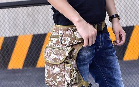 Чанта за крак - за велосипед и мотоциклет