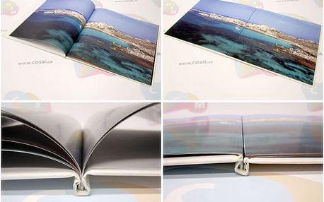 Kvalitní šitá fotokniha, 40 až 96 stran