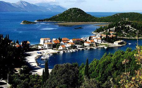Chorvatsko - Jižní Dalmácie na 8 dní, bez stravy s dopravou vlastní přímo na pláži