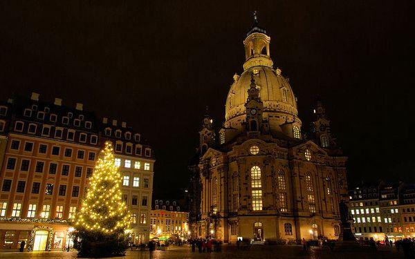 Výlet na adventní trhy a nákupy v Drážďanech v Německu