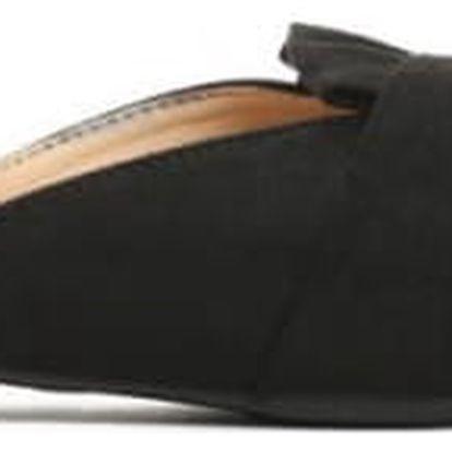 Dámské černé pantofle Aster 014