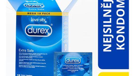 DUREX Extra Safe 18 ks - lubrikované kondomy