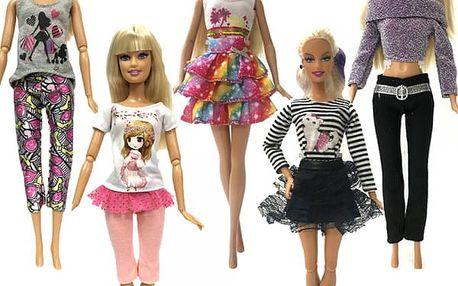 Sada oblečení pro panenku - 5 kusů