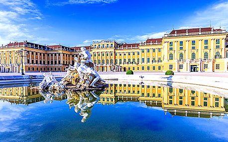 Ubytování ve Vídni se snídaní - na výběr ze dvou hotelů. Dvě děti do 17 let zdarma.