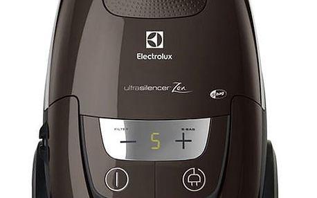 Vysavač podlahový Electrolux UltraSilencer ZEN EUS85BR hnědý