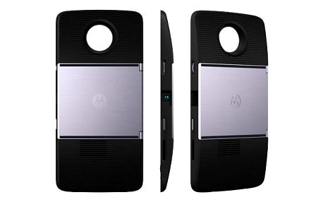 Kryt na mobil Motorola Mods DLP Projektor Insta-Share černý (ASMPRJTBLKEU)