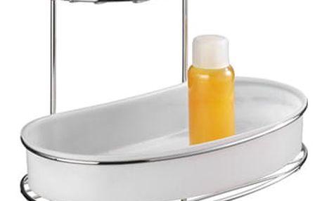 Koupelnová polička MILAZZO, Vacuum-Loc, 3 úrovně - chromovaná ocel, WENKO