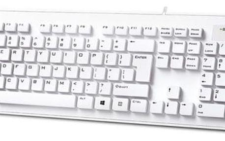 Klávesnice Genius Slimstar 130, CZ/SK bílá (31300726100)