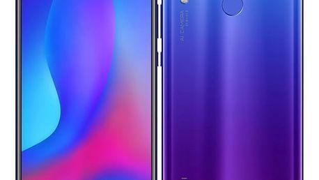 Mobilní telefon Huawei nova 3 (SP-NOVA3FOM) fialový SIM karta T-Mobile 200Kč Twist Online Internet v hodnotě 200 Kč + DOPRAVA ZDARMA