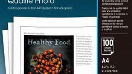 Fotopapír Epson Photo Quality A4, 102g, 100 listů bílý (C13S041061)
