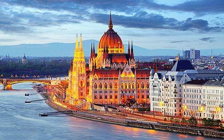 2denní víkendový zájezd pro 1 do adventní Budapešti s návštěvou termálních lázní