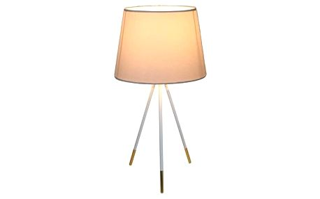 Tempo Kondela Stolní lampa Jade 5, bílá