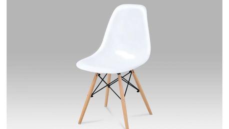 Jídelní židle CT-718 WT1 bílá Autronic