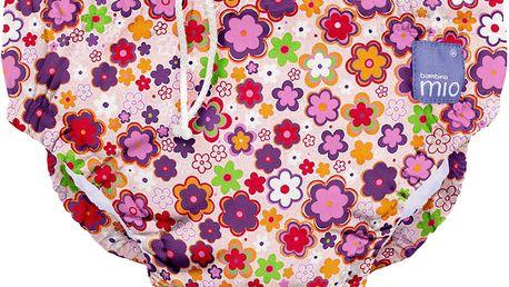 BAMBINO MIO Kalhotková koupací plena Ditzy Floral vel.XL (12-15kg)