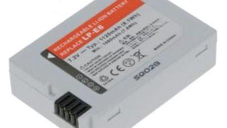 Akumulátor pro video/foto Avacom pro Canon LP-E8 Li-Ion 7,2V 1120mAh (DICA-LPE8-356)