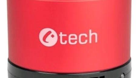 Přenosný reproduktor C-Tech SPK-04R červený (SPK-04R)