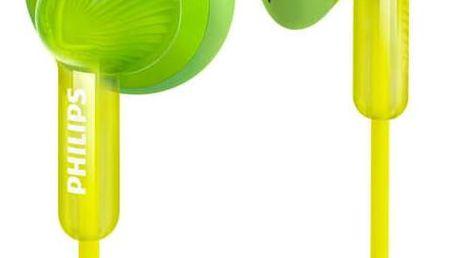 Sluchátka Philips SHE3010GN zelená (SHE3010GN)