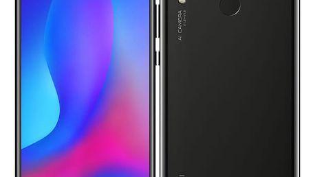 Mobilní telefon Huawei nova 3 (SP-NOVA3BOM) černý SIM karta T-Mobile 200Kč Twist Online Internet v hodnotě 200 Kč + DOPRAVA ZDARMA