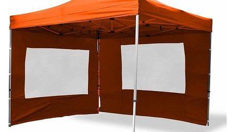 Garthen PROFI 429 Sada 2 bočních stěn pro zahradní stan 3 x 3 m - terakota