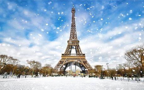 3denní zájezd pro 1 osobu do adventní Paříže