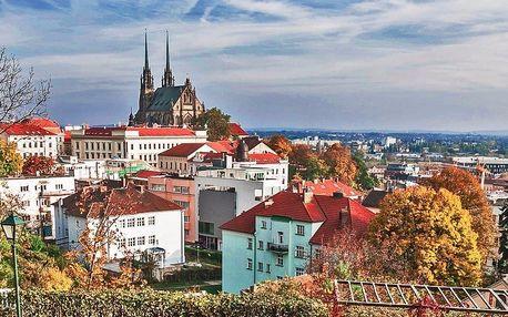Pohodový pobyt v Mariánském údolí v Brně pro dva
