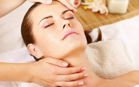 Hodinové kosmetické ošetření či masáž obličeje