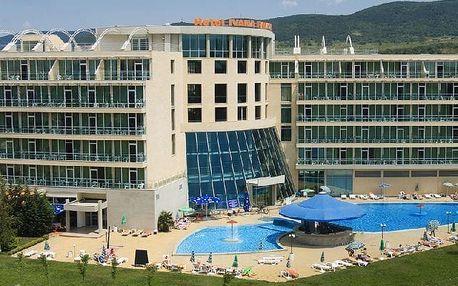 Bulharsko - Slunečné Pobřeží na 5 dní, polopenze s dopravou letecky z Bratislavy 300 m od pláže