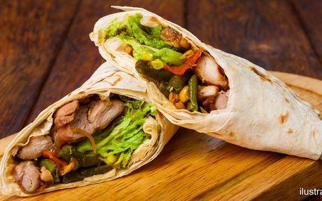 Šťavnatá tortilla i vstup do wellness pro 2 osoby
