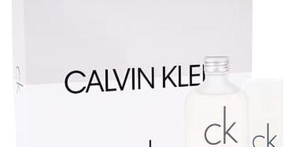 Calvin Klein CK One EDT dárková sada U - EDT 100 ml + deostick 75 ml