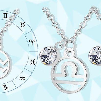 Ocelový náhrdelník ve znamení zvěrokruhu