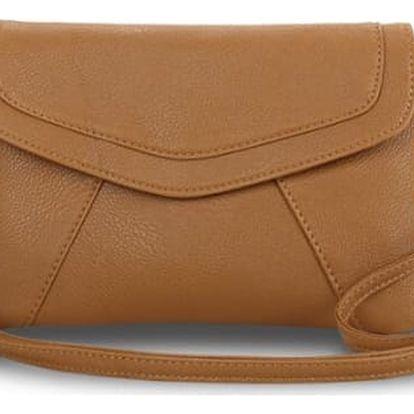 Módní mini kabelka přes rameno i do ruky, na výběr černá nebo hnědá barva.