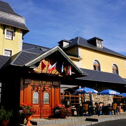 3 až 6denní pobyt pro 2 s wellness a polopenzí v hotelu Praha v Božím Daru