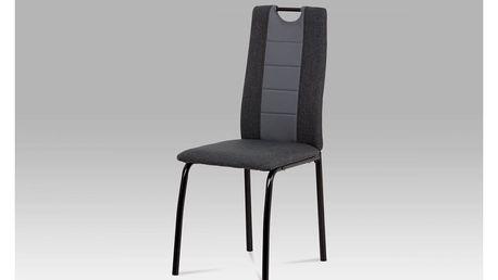 Jídelní židle DCL-399 GREY černá / šedá Autronic